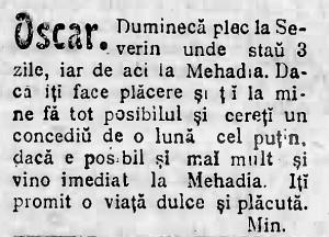 anunturi amoroase amuzante 1904