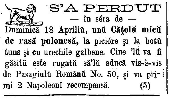 Telegraful de Bucuresci 30 aprilie 1871