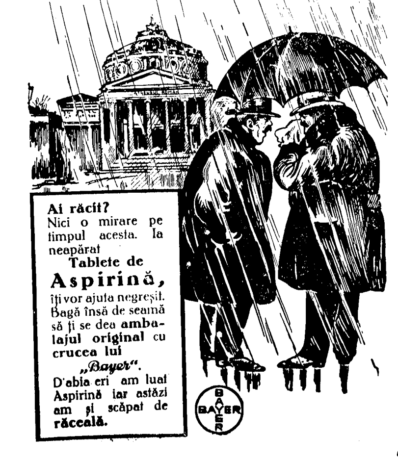 Aspirina Bayer - Realitatea ilustrată 1930(2)