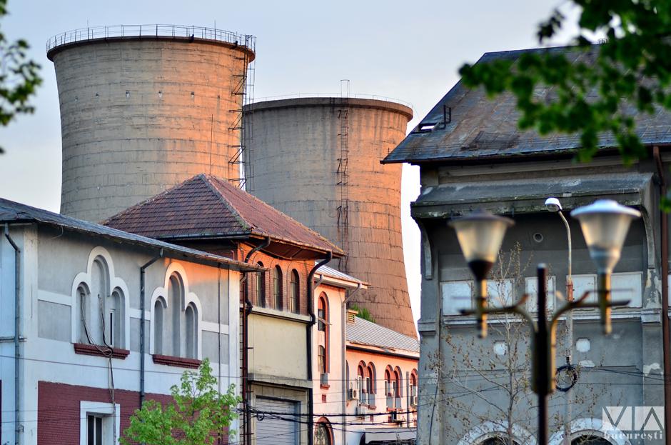 Contraste in Bucuresti - CET Grozavesti