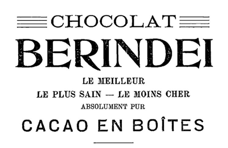ciocolata berindei 1911