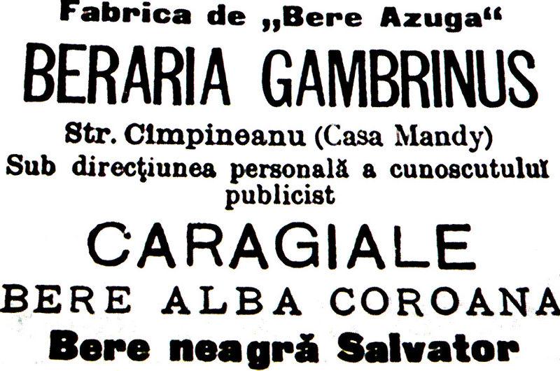 Berăria_Gambrinus,_Caragiale