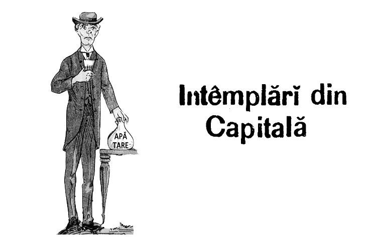 Întâmplări din capitală - Timpul(1881) - încercare de sinucidere cu apă tare