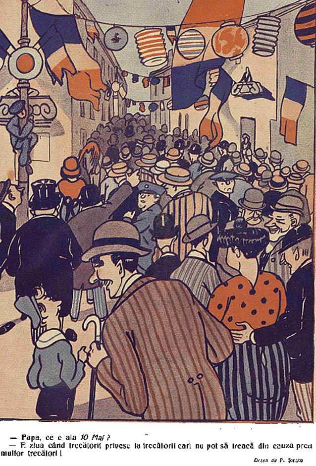Calea Victoriei 10 mai 1914 - Furnica 1914