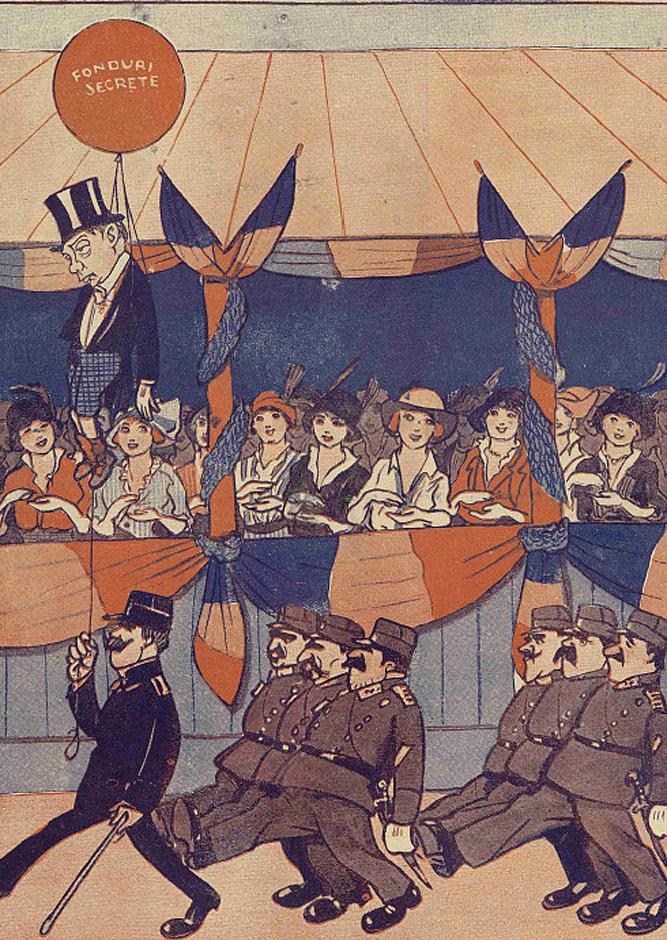 Defilare Calea Victoriei 10 mai 1914 - Furnica 1914