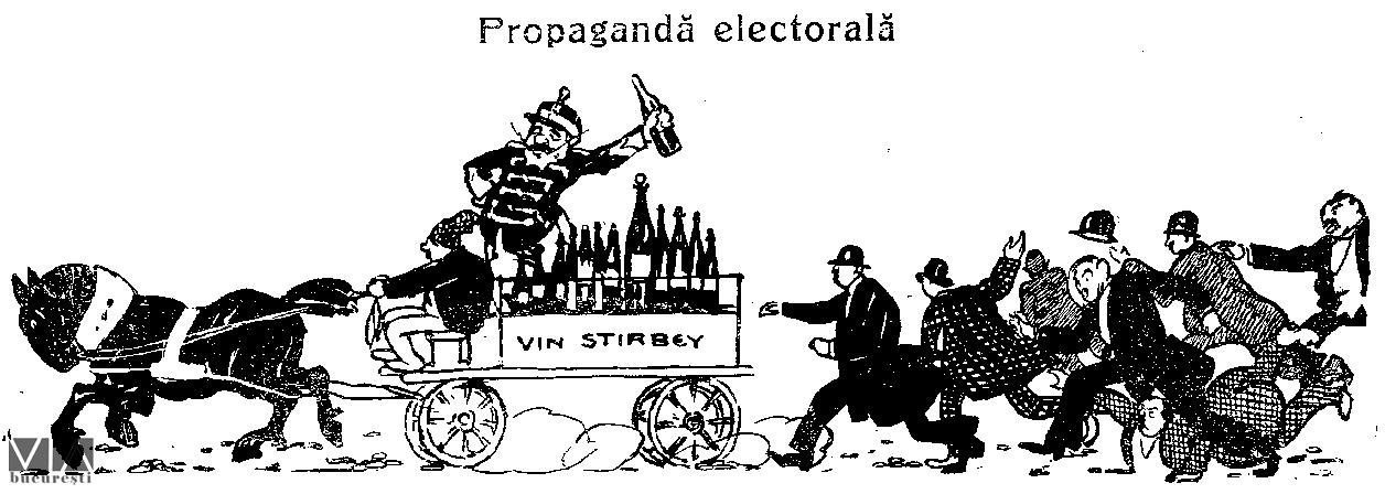 Propaganda electorală, Furnica(1911)