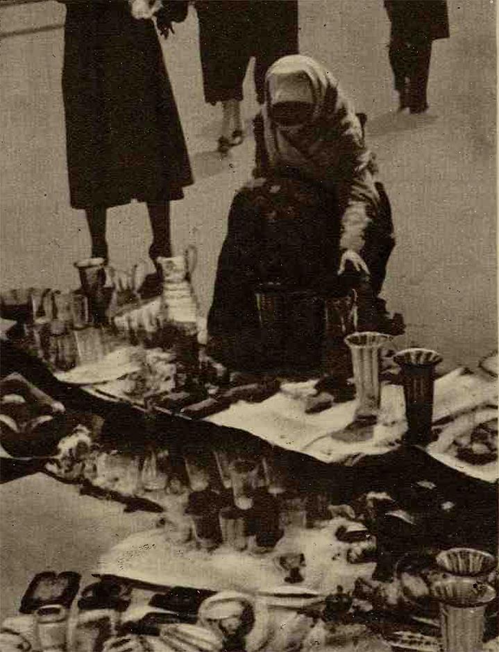 Negustoreasă în Târgul din Vitan - Realitatea Ilustrată(1936)