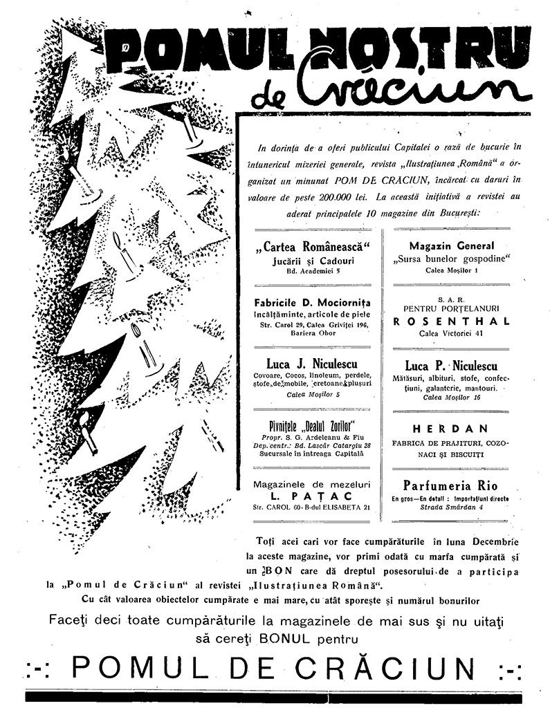 Ilustrațiunea Română, 25 decembrie 1932-3