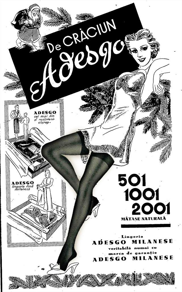 Realitatea Ilustrată 20 decembrie 1938 - ciorapii Adesgo