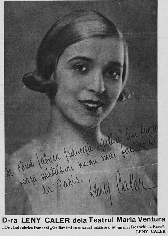 Leni Caler - Realitatea Ilustrată, 2 iunie 1932