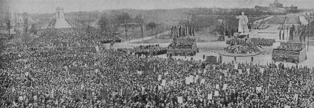 Scânteia 10 martie 1953 - moartea lui Stalin Piata Stalin