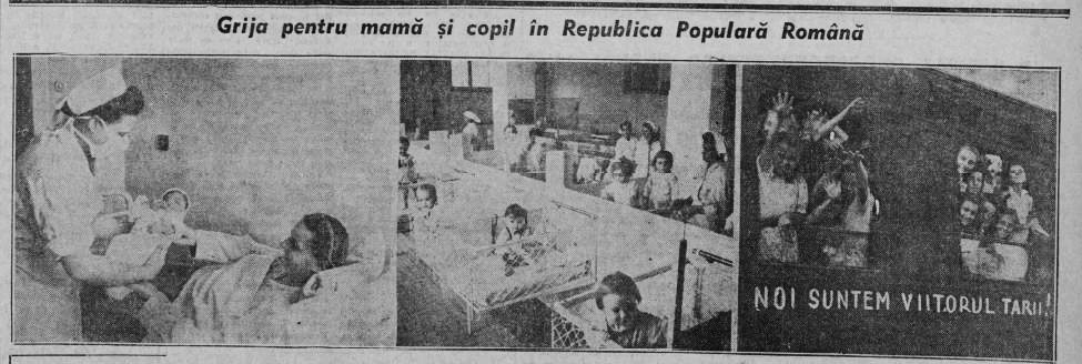 Scânteia, 8 martie 1950