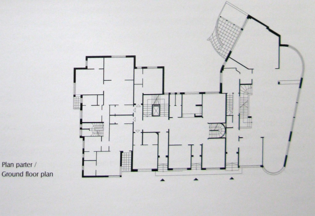 Imobilul Bazaltin, Piața Charles de Gaulle nr.2 plan