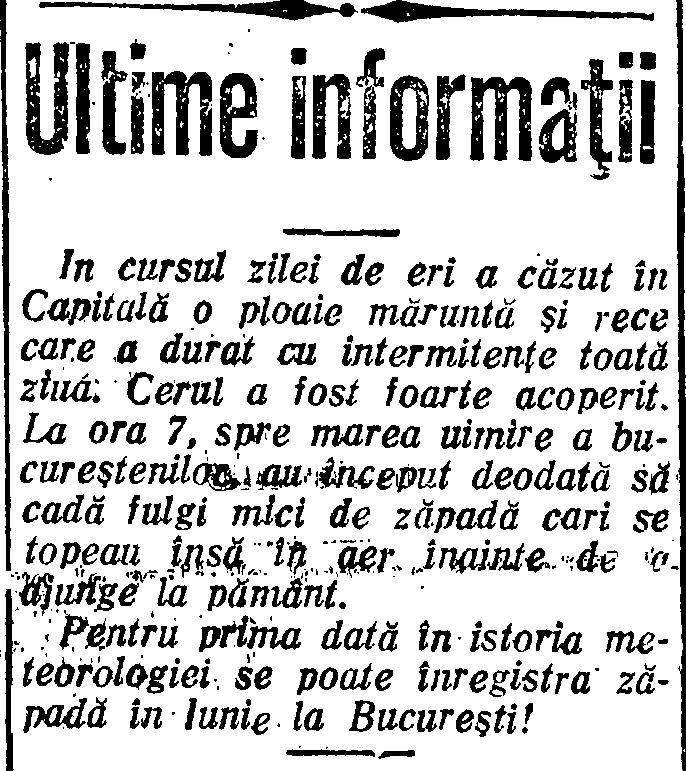 Zapada in iunie 1933, Adevărul 7 iunie 1933