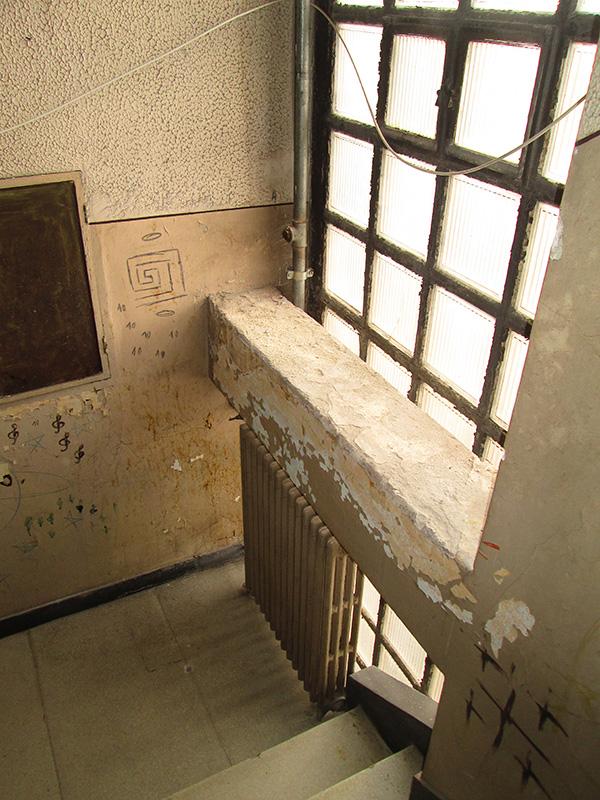 detaliu scară - imobil Malaxa Burileanu
