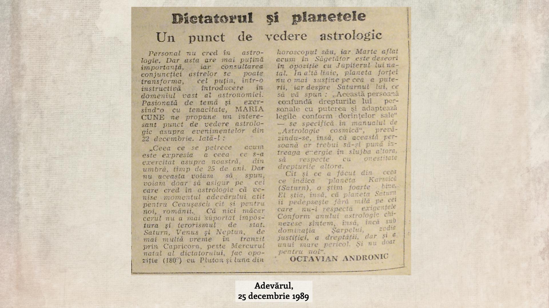 11-Dictatorul si planetele