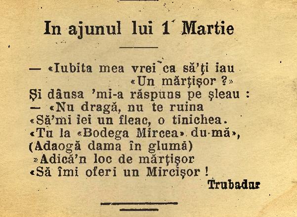 Furnica, martie 1915