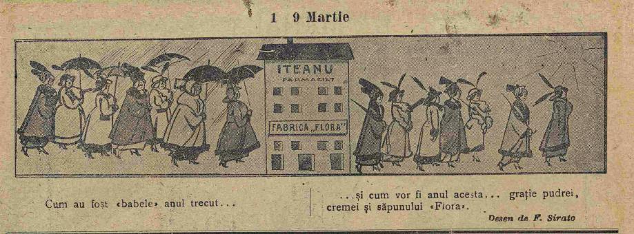 Furnica, martie 1916