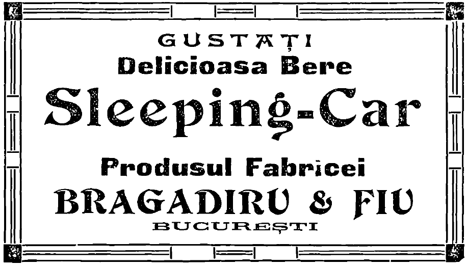 1910_-_Reclamă_Bere_Bragadiru