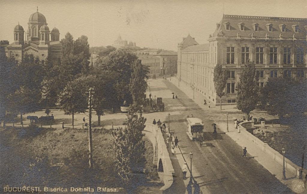 Podul Rahovei și începutul Căii Rahovei sursa: fototecaortodoxiei.ro