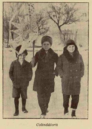 """""""Ilustrațiunea română"""", Crăciun 1933."""